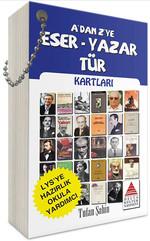 A'dan Z'ye Eser - Yazar Tür Kartları