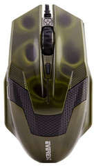 Everest SM-612 Usb Metalik Yeşil Oyun Mouse