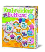 4M Embroidery Buttons/Etamin Düğmeler