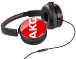 AKG Y50 Kulaklık,Control Talk OE,Kırmızı AK.Y50RED