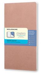 Moleskine Chapters Journal Slim Pocket - Noktalı Pembe Günlük