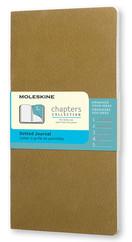 Moleskine Chapters Journal Slim Pocket - Noktalı Altın Günlük