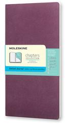 Moleskine Chapters Journal Slim Medium - Noktalı Mor Günlük