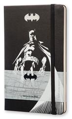 Moleskine Limited Edition Batman Plain Large Hard Cover Black - Siyah Çizgisiz Defter