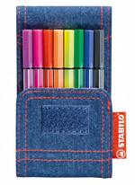 Stabilo Pen 68 Mini Jeans 8'li Set 668/8-06