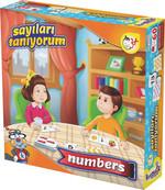 Kırkpabuç Sayıları Tanıyorum Kutu Oyunu (Karton) 7315