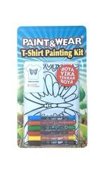 Paint Wear Kelebek T-Shırt Boyama Seti 9-11