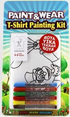 Paint Wear Palyaço T-Shırt Boyama Seti 4-6
