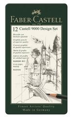 Faber-Castell Castell 9000 Design Kuşun Kalem Seti (5B-5H) 5160119064