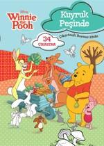 Winnie the Pooh Kuyruk Peşinde Çıkartmalı Boyama Kitabı
