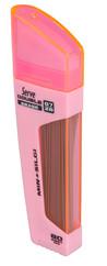 Serve 0.7mm 2B 80 Adet Min+Silgi Şeker Pembe SV-DSMSP07