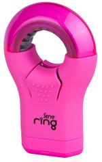 Serve Ring Silgili Kalemtıraş Fosforlu Pembe
