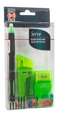 Serve Creative 3'lü Set 0.7 Yeşil