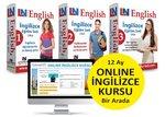 Limasollu Naci Canlı Eğitmen Destekli 3 Kur İngilizce Eğitim Seti + Online İngilizce Kursu Bir Arada