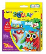 Amos I-Clay Oyun Hamuru 18Gr 4 Renk