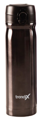Trendix Çelik Içli Matara 500Ml Gri (Termos Özellikli)