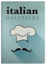 Conteiner Book Italian Moustache Karton Kapak Çizgisiz Defter