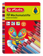 Herlitz Crayon Pastel Tutacaklı 10'lu Metal Kutu 008