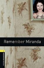 Oxford Bookworms Library: Stage 1: Remember Miranda(CD'li)