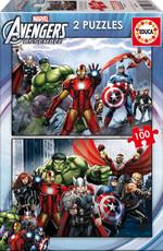 Educa Çocuk Puzzle 2x48 Ultimade Spider-Man 15639 Karton