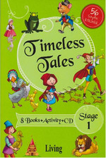 Stage 1- Timeless Tales 8 Books + Activity + CD