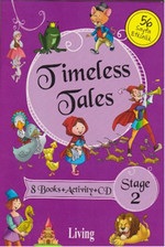 Stage 2 - Timeless Tales 8 Books + Activity + CD