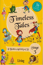 Stage 3 - Timeless Tales 8 Books + Activity + CD