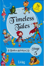 Stage 5 - Timeless Tales 8 Books + Activity + CD