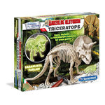 Clementoni Arkeolojik Kazı Seti - Triceratops (Floresan) 64562