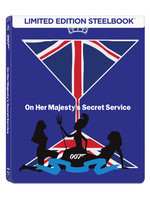007 James Bond - On Her Majestys Secret Service Steelbook- Kraliçenin Hizmetinde ( Seri 6 )