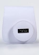 Fujifilm Instax Mini 8 Çanta Kanvas Beyaz FOTSIBC004