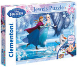Clementoni Puzzle 104 Jewels Frozen 20601