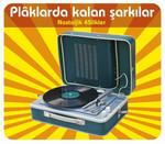 Plaklarda Kalan Şarkılar - Nostaljik 45'likler (3Cd Box Set)