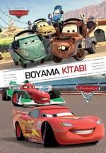 Disney Arabalar Boyama Kitabı