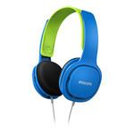 Philips  SHK2000BL Çocuk Kulaklık / Mavi&Yeşil