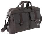 Nava Cu082Db Courier Briefcase 2 Pk.Laptop Çantası 29x43x12cm Kahverengi