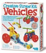 4M Creative Straw Kit Vehicles