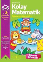 Çıkartmalarla Kolay Matematik Eğlenerek Öğrenelim 5-6 Yaş