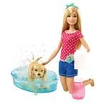 Barbie BRB ve Köpekçik Banyo Keyfi DGY83
