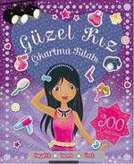 Güzel Kız Çıkartma ve Aktivite Kitabı - 300 Çıkartma