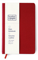 Leather & Paper 9x14 Kırmızı Flotter Defter