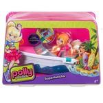 Polly Pocket - Polly ve Araçlari (Araba/Tekne) CMG40