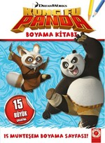 Kung Fu Panda - Boyama Kitabı