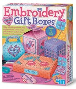 4M Embroidery Gift Boxes / Nakışlı Hediye Kutuları