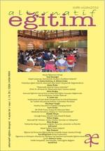 Alternatif Eğitim Dergisi Ocak - Nisan 2016 - Sayı 1