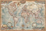 Educa Puzzle 1000 Parça Political Map Of The World Minyatür 16764