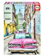 Educa Puzzle 1000 Parça Vintage Car in Old Havana 16754