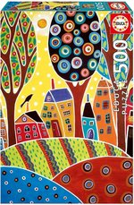 Educa Puzzle 500 Parça Houses Barn Landscape, Karla Gerard
