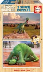 Educa Puzzle Çocuk 2 X 50 The Good Dinosaur 15917