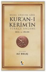 Nüzul Sırasına Göre Kur'an-ı Kerim'in Türkçe Anlamı Hafız Boy